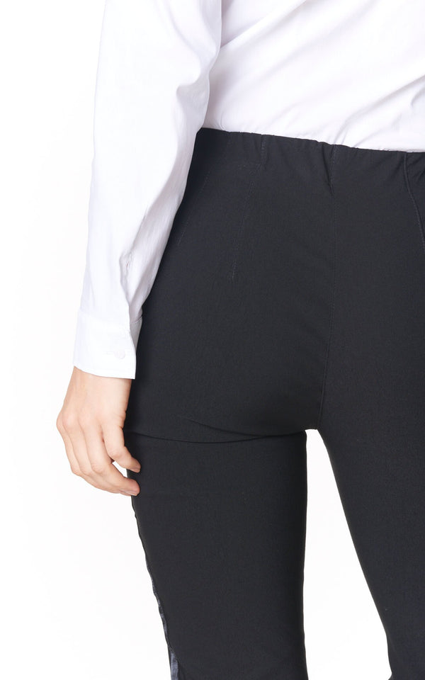 Stretch Side Stripe Pants