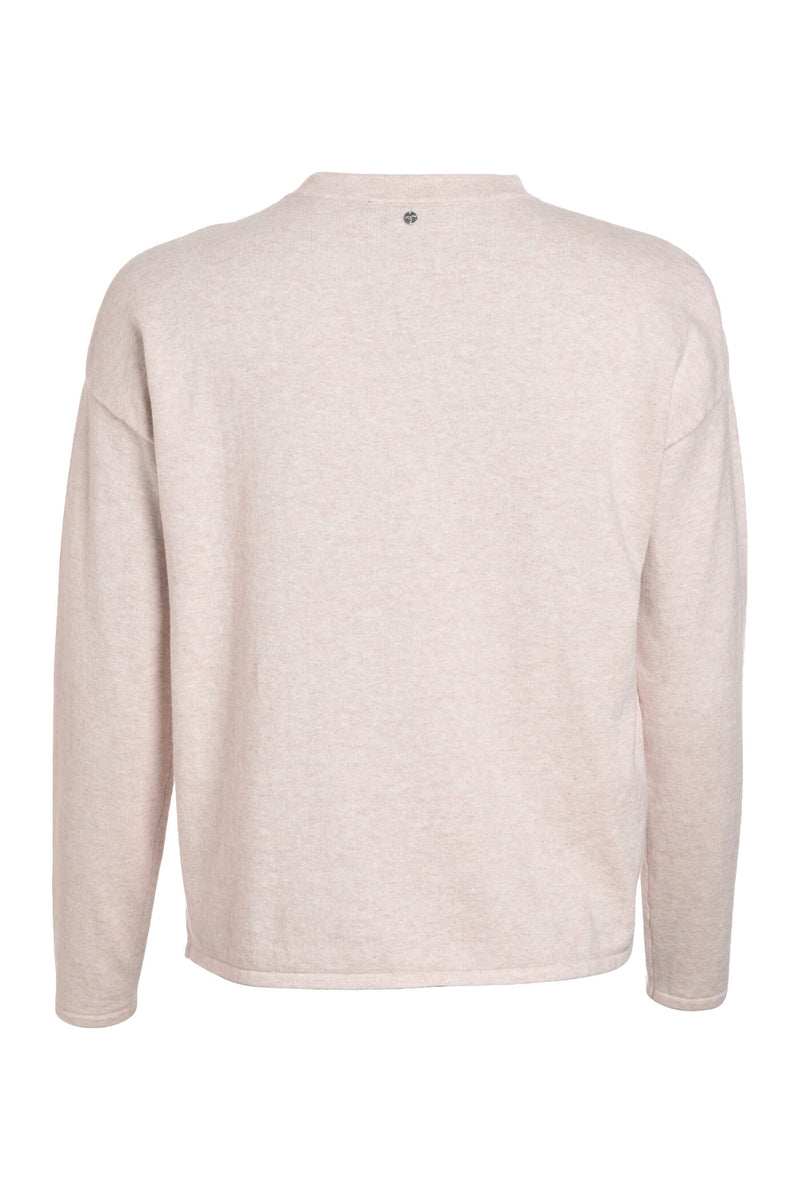 CLEAR <br> Cotton Cashmere Jumper