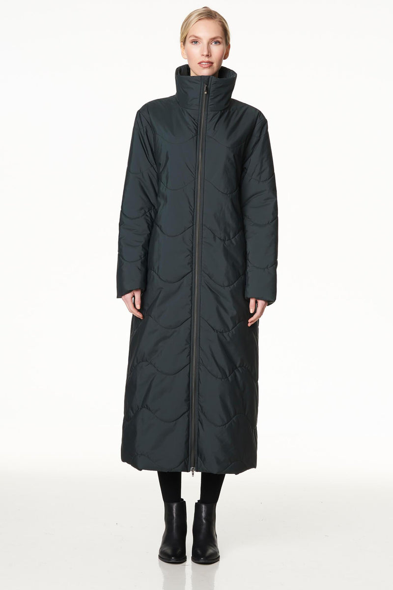 Voglia puffer coat in green