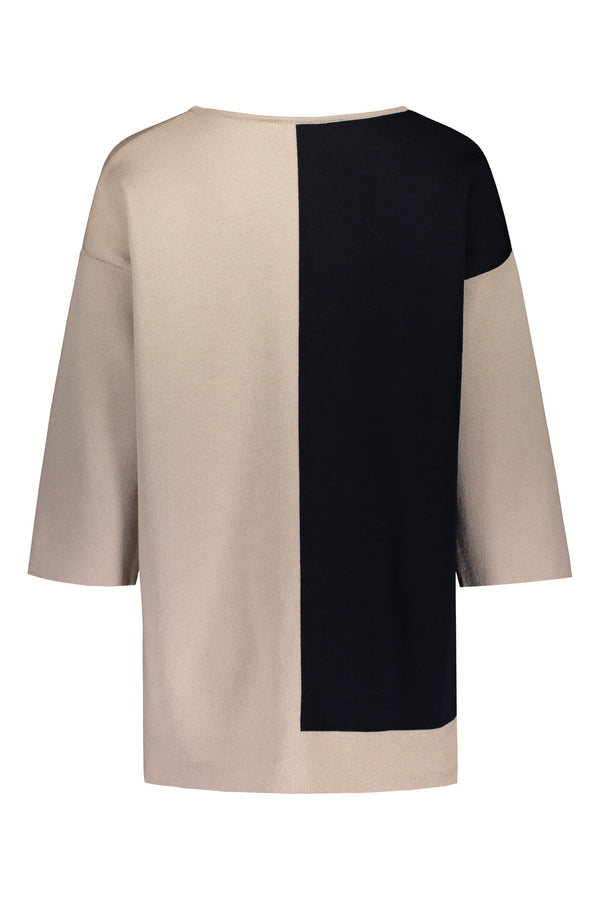 ALMA Colour Block Jumper