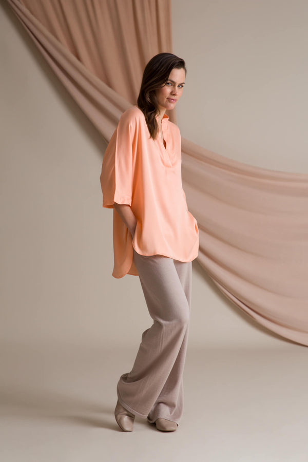 BROOKLYN Loose Fit Blouse peach