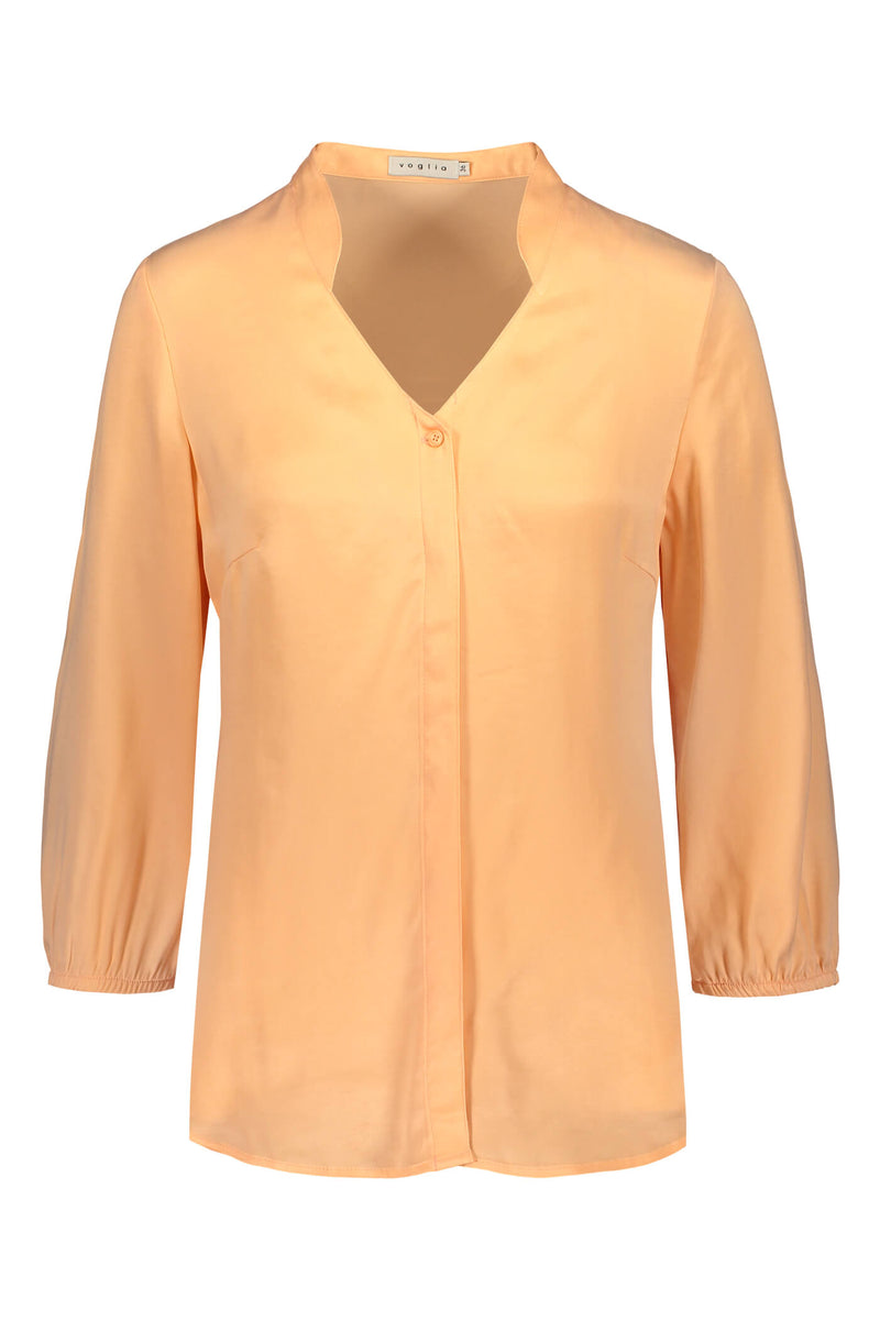 CARRIE Blouse peach front