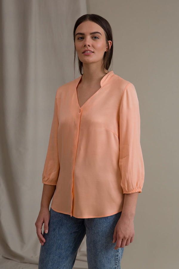 CARRIE Blouse peach