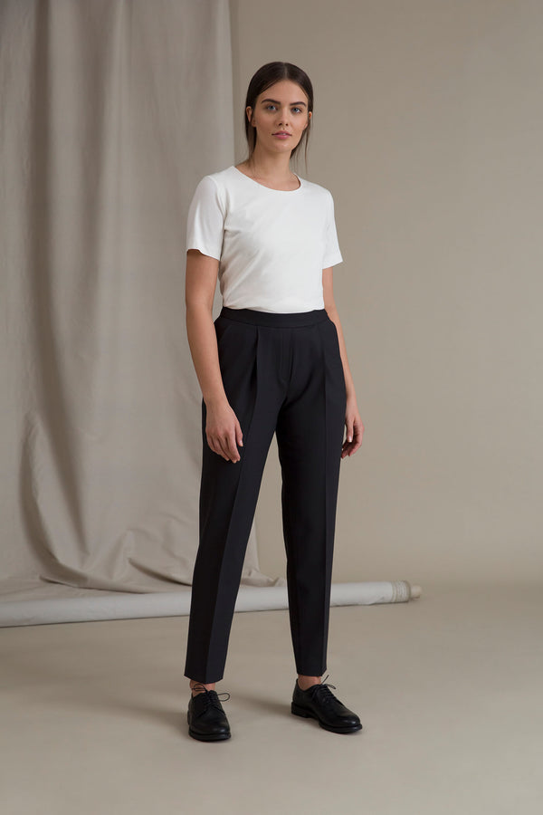 CINDY High Waist Trousers blackest