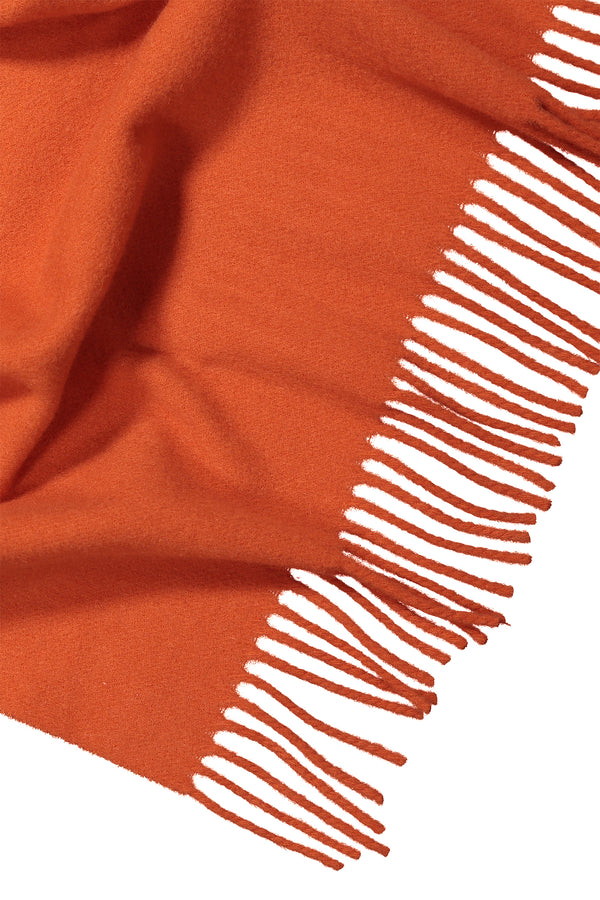 Connie wool scarf orange