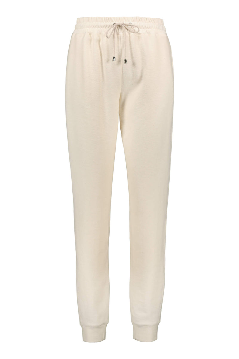 DAILY Organic Cotton Sweatpants soft white front