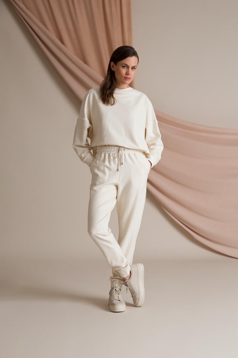 DAILY Organic Cotton Sweatpants soft white