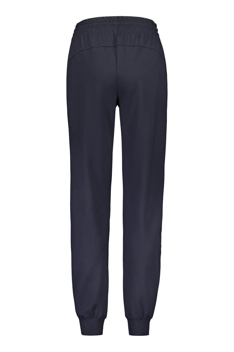Daily relaxed sweat pants blue back