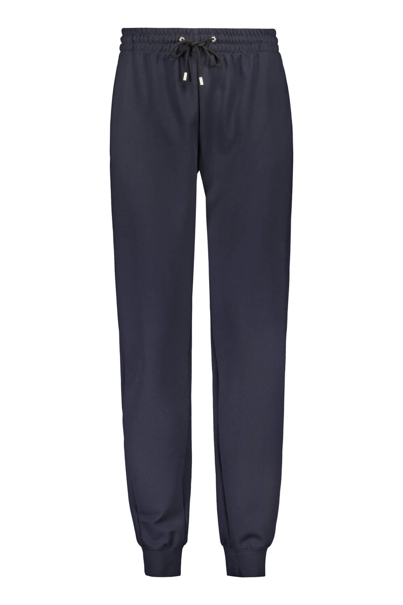 Daily relaxed sweat pants blue front