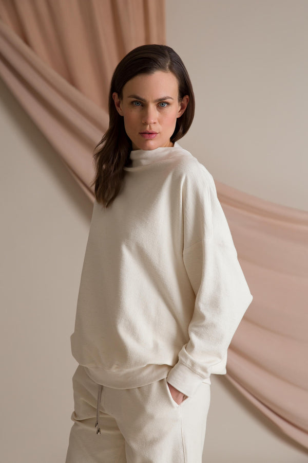 DANA Organic Cotton Sweater soft white