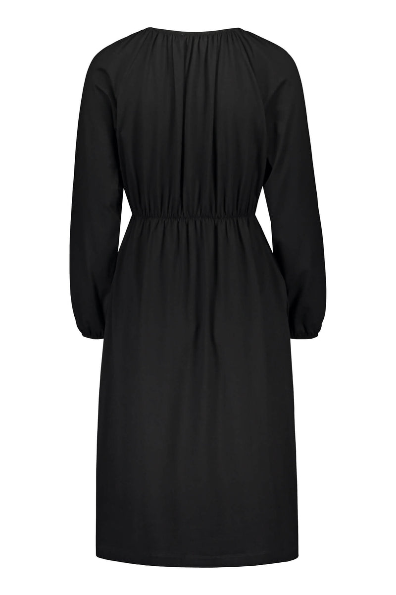 ETTA Raglan Sleeve Dress black back