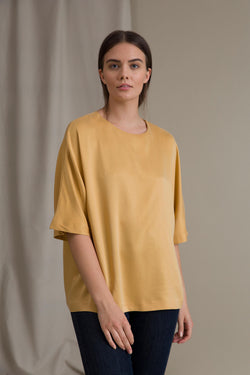 JESSICA Loose Fit Top honey