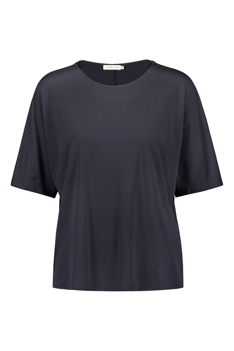 JESSICA Loose Fit Top navy front