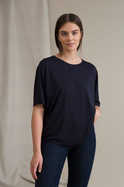 JESSICA Loose Fit Top navy