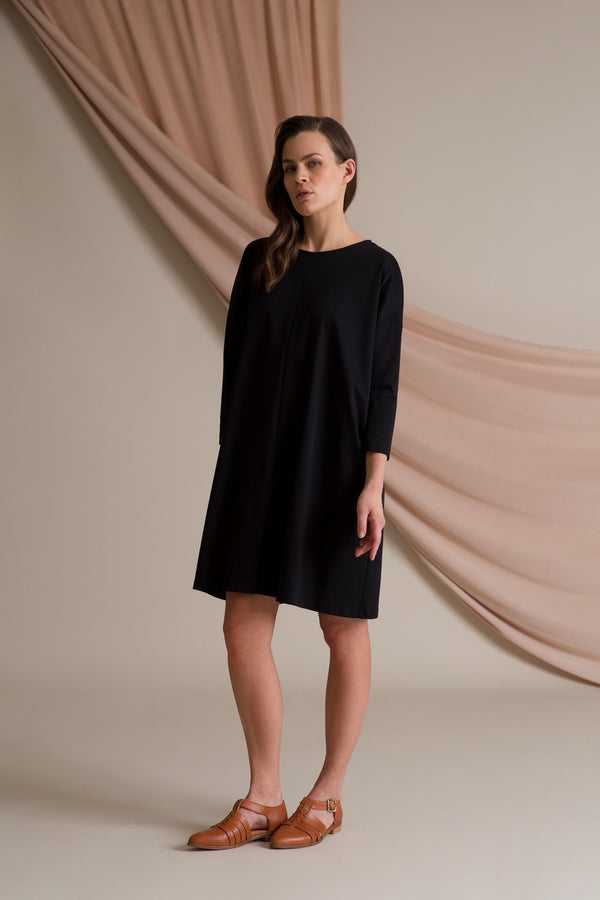 KAMILLA Boxy Dress blackest