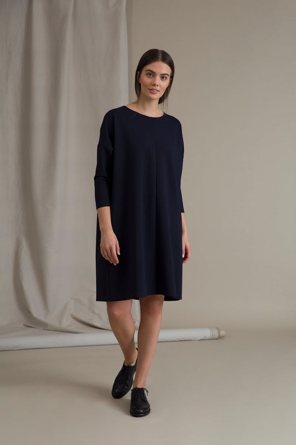 KAMILLA Boxy Dress navy