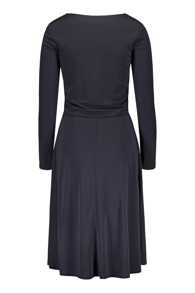 KARLA Jersey Dress navy back