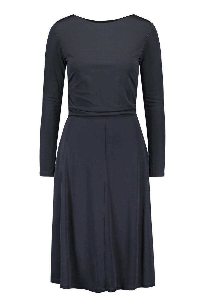 KARLA Jersey Dress navy front