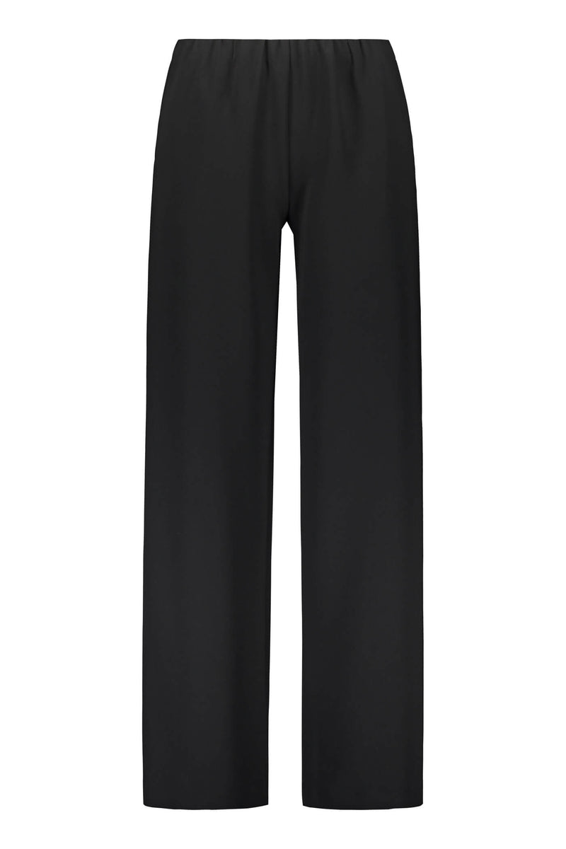 KEIRA Loose Fit Trousers black front