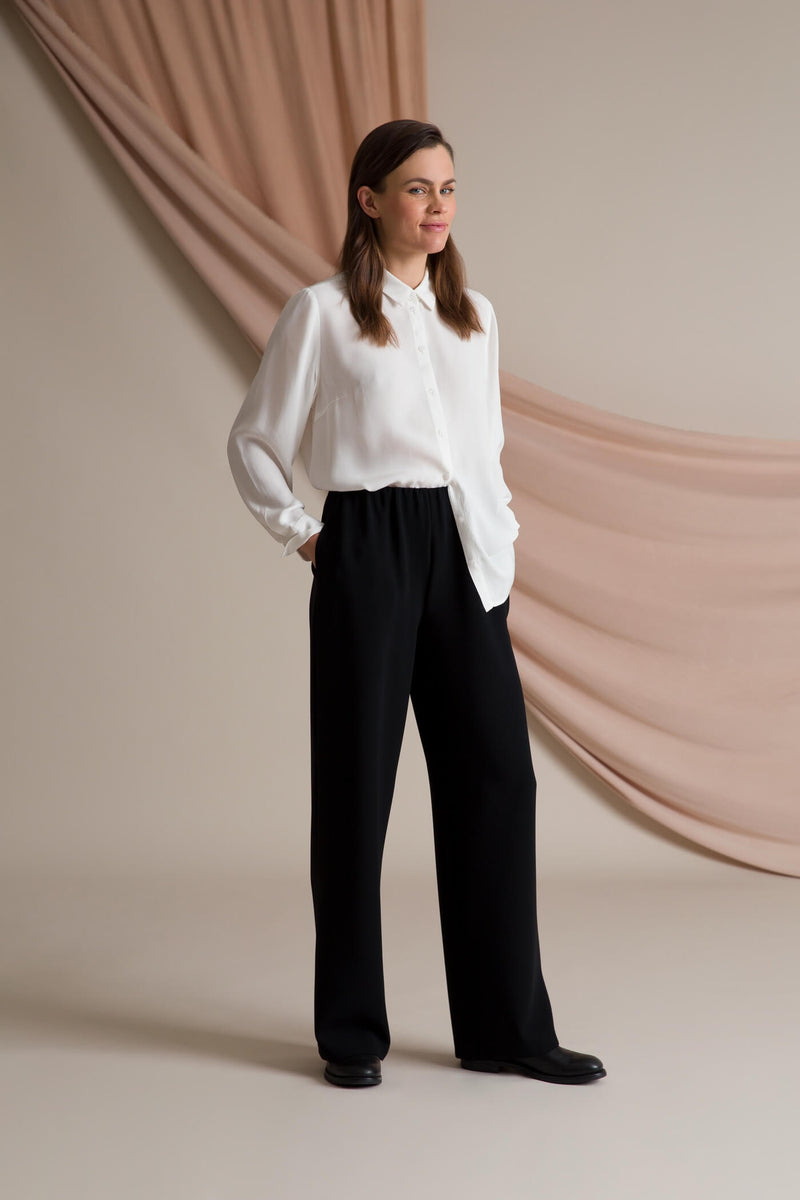 Keira loose fit trousers black