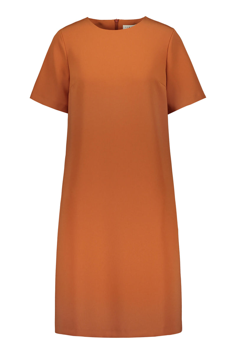KENNEDY Loose Fit Dress terra front