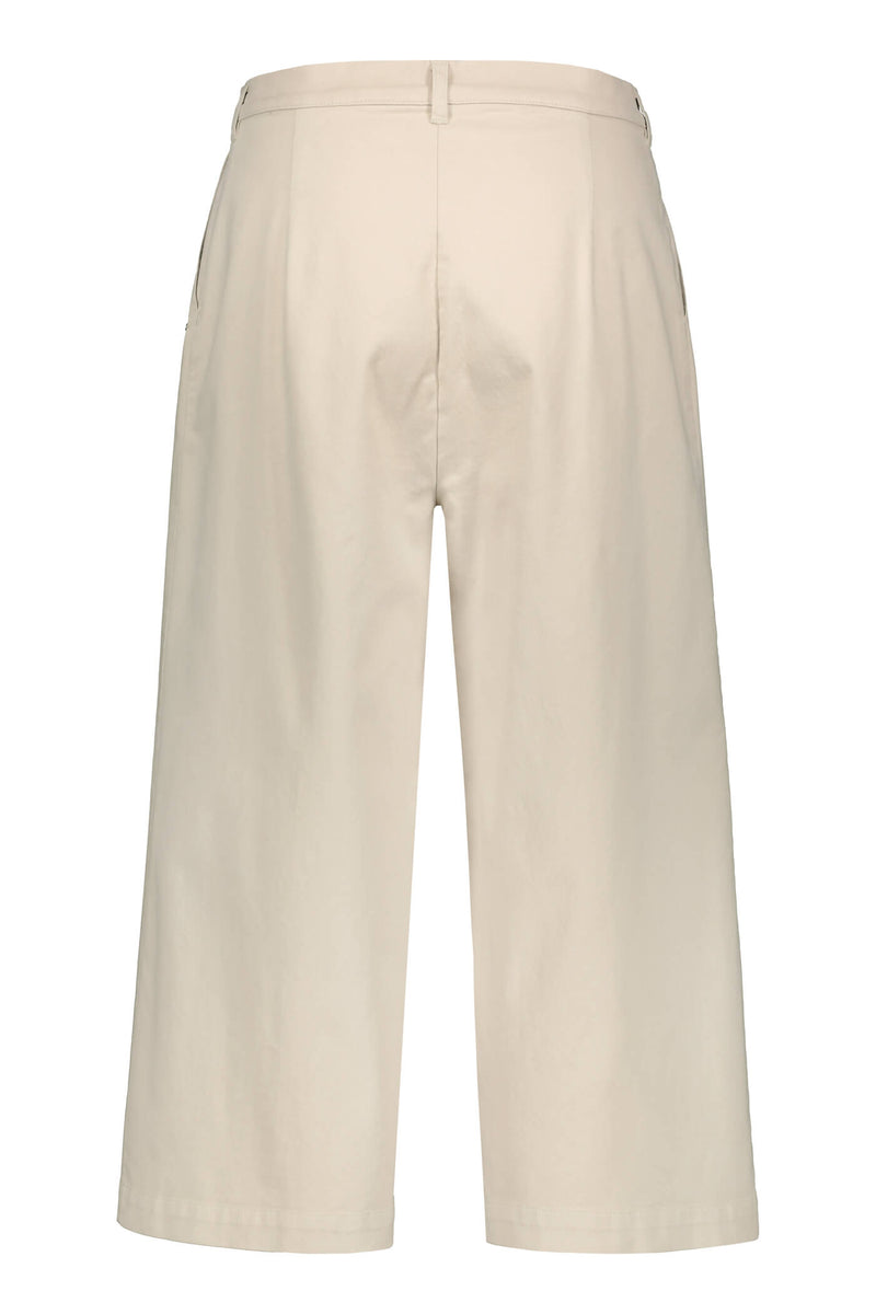 SCARLETT Cotton Culottes beige back