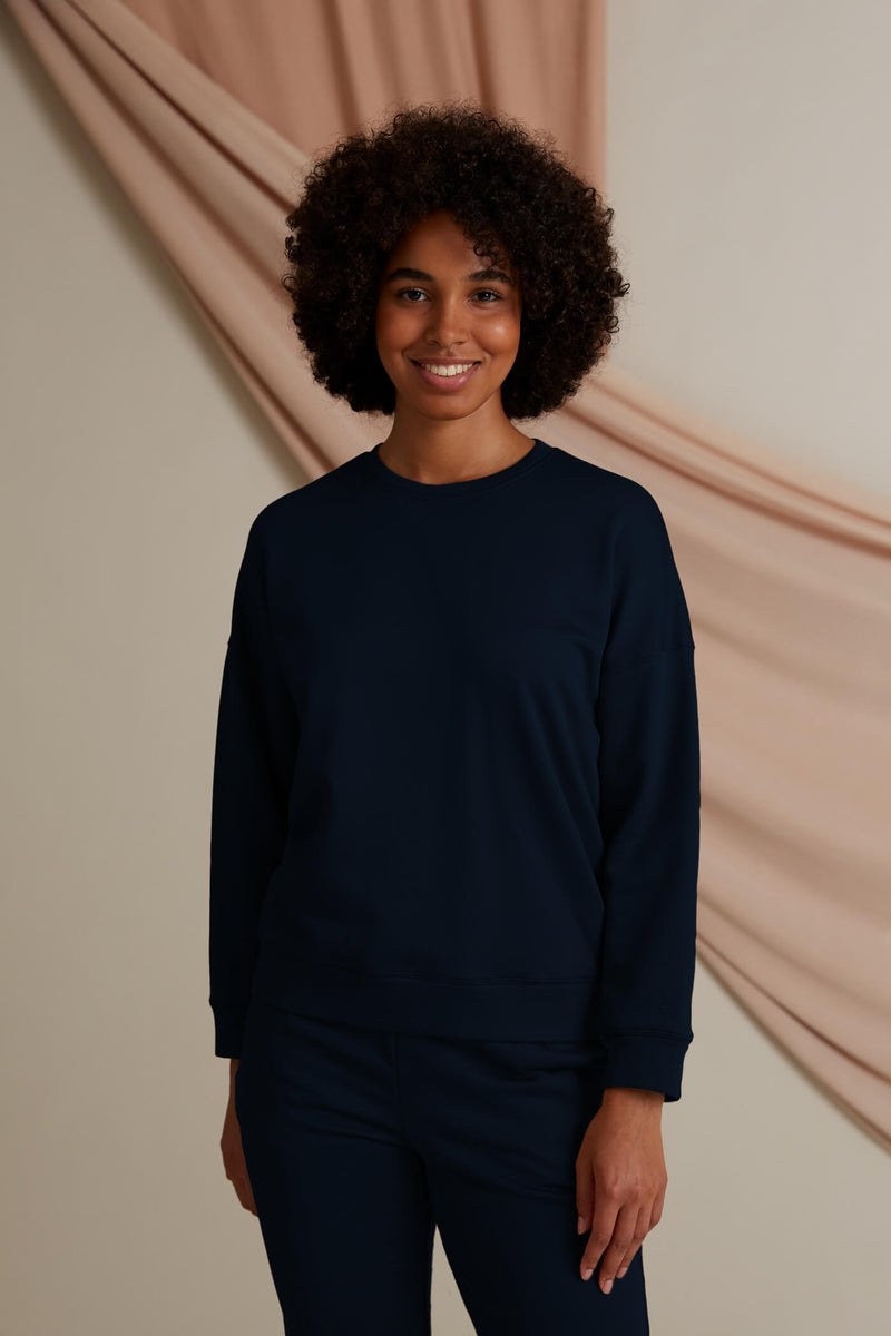 Voglia Dixie relaxed sweater dark blue