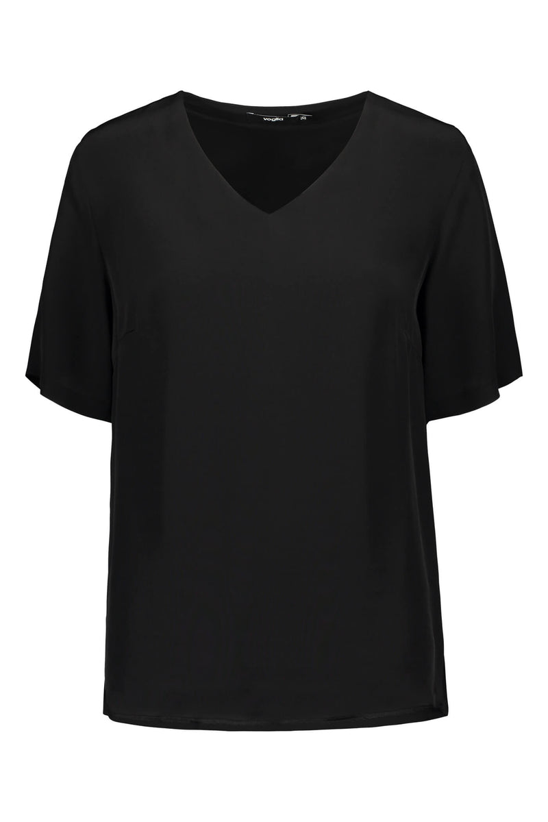Voglia Finland Audrey loose blouse in black front