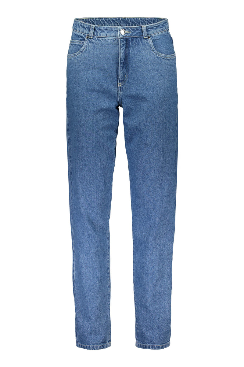 Voglia Finland Holly five pocket jeans blue denim front