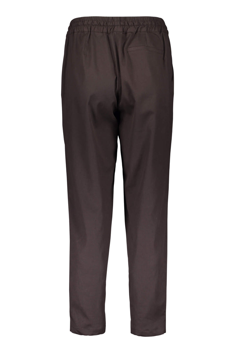 Voglia Finland Sylvie brown relaxed pants back