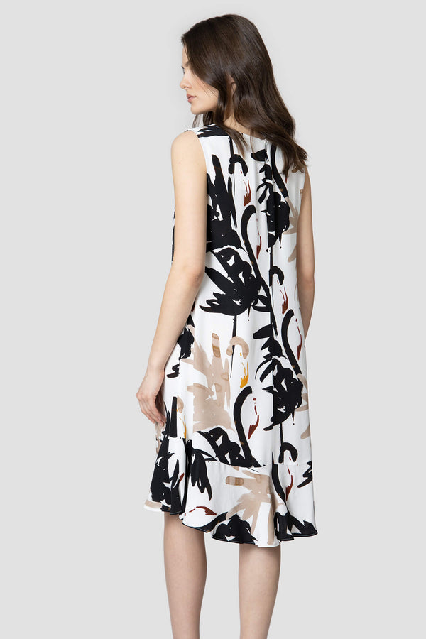 Voglia Finland women's flowy print dress