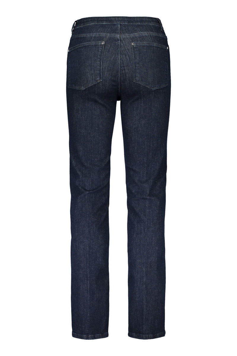 Voglia Heta eco jeans straight leg blue back