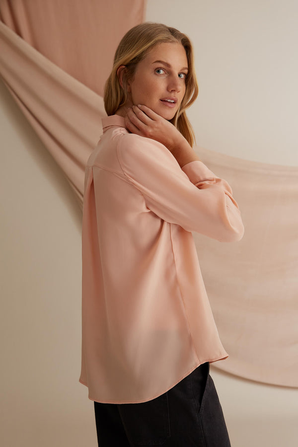 Voglia Kristina shirt blush back