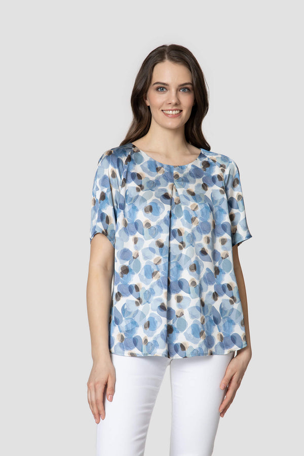 Patterned Blouse