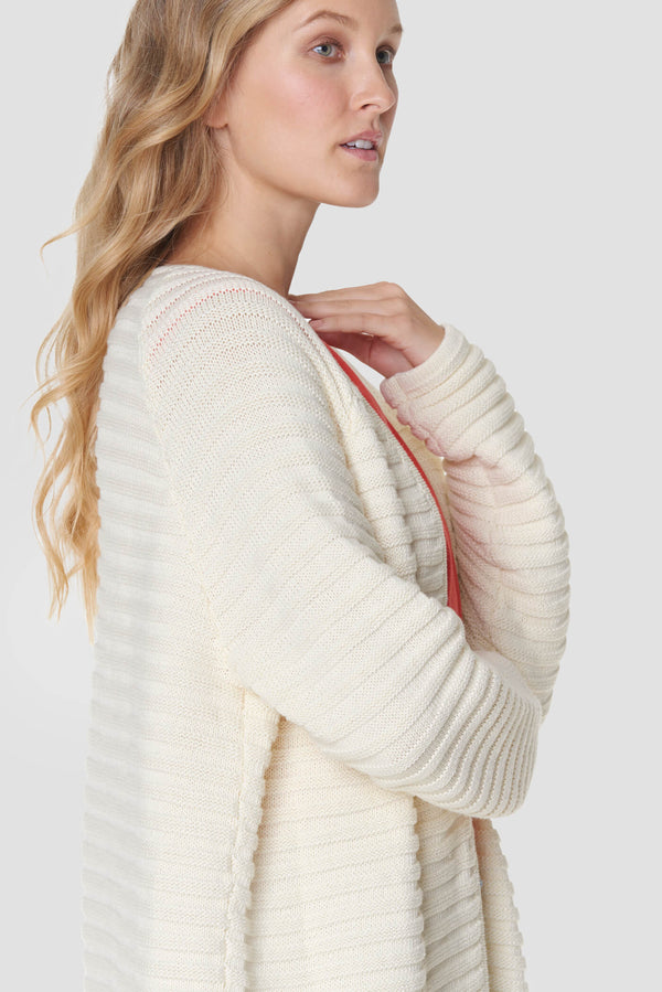 Voglia Finland women's cotton cardigan