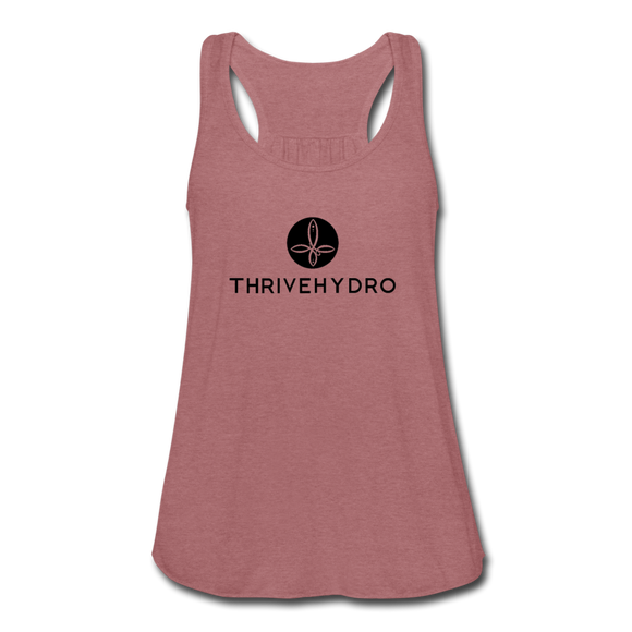 ThriveHydro Women's Flowy Tank Top by Bella - mauve