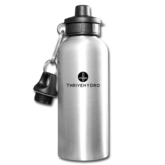 ThriveHydro Water Bottle - silver