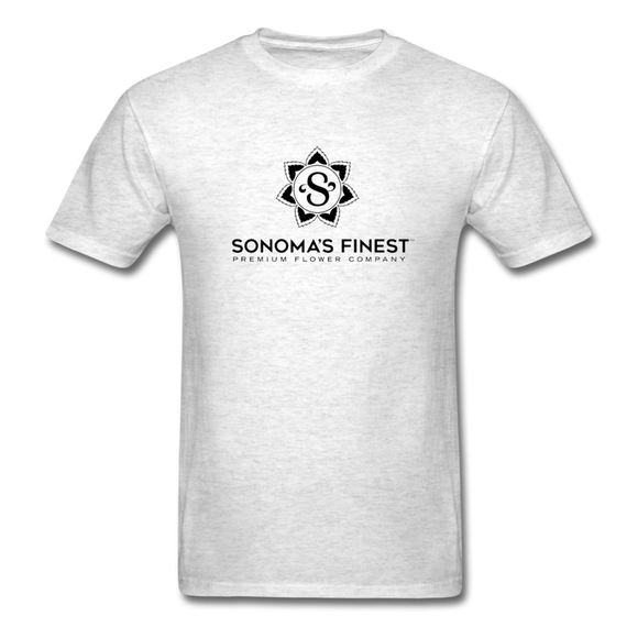 Sonoma's Finest Mens TShirt - light heather grey