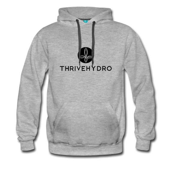 ThriveHydro Mens Hoodie - heather gray