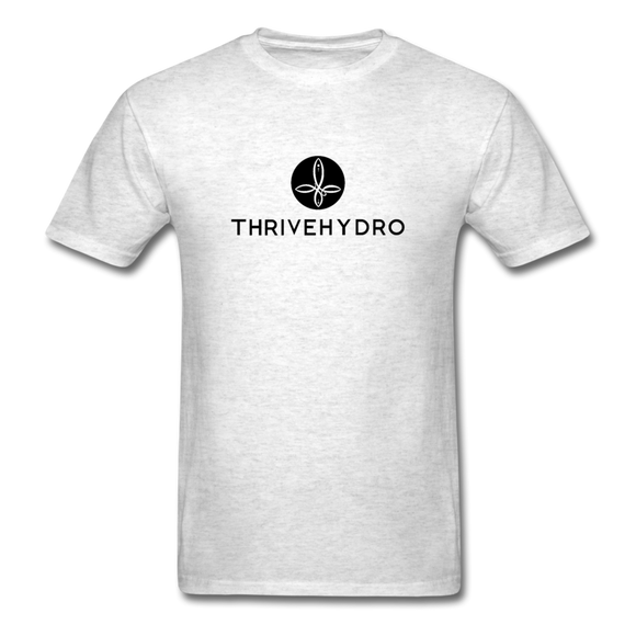 ThriveHydro Men's T-Shirt - light heather grey