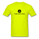 ThriveHydro Men's T-Shirt - safety green