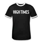 High Times Men's Retro T-Shirt - black/white