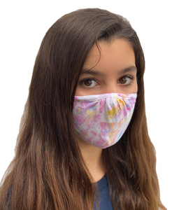 The Kind Group Double Layer, Tie Dye Adjustable Mask