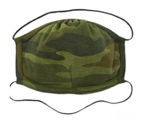 The Kind Group Double Layer Camo Adjustable Mask (Made in USA)