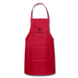 Sonoma's Finest Adjustable Apron - red