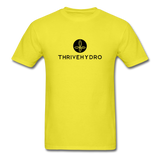 ThriveHydro Men's T-Shirt - yellow