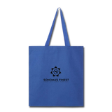 Sonoma's Finest Tote Bag - royal blue