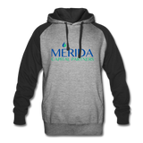 Merida Colorblock Hoodie - heather gray/black