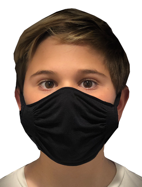 The Kind Group Double Layer, Seamless, Nylon Adjustable Mask - Made in USA