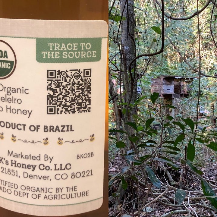 The ONLY company using the latest blockchain technology, every ounce of honey can be traced directly to the farm where it was produced.